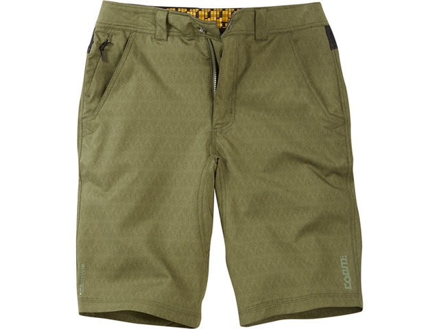 MADISON Roam men's shorts, dark olive click to zoom image