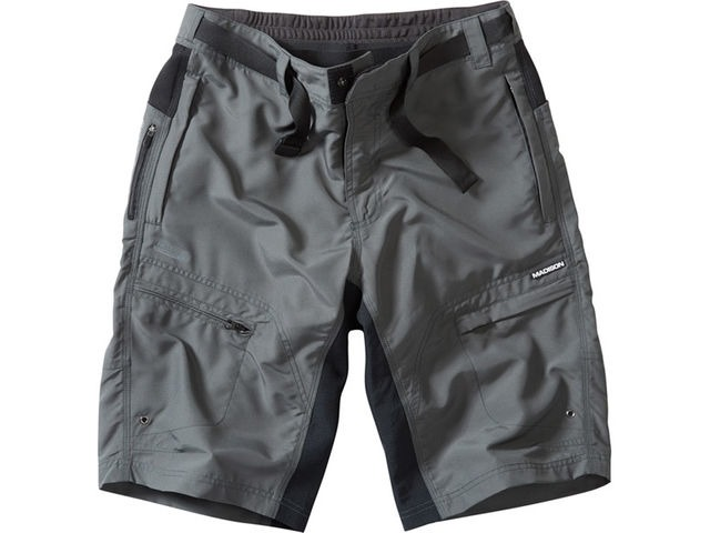 MADISON Trail men's shorts, dark shadow click to zoom image