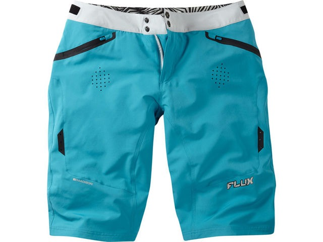 MADISON Flux women's shorts, caribbean blue click to zoom image