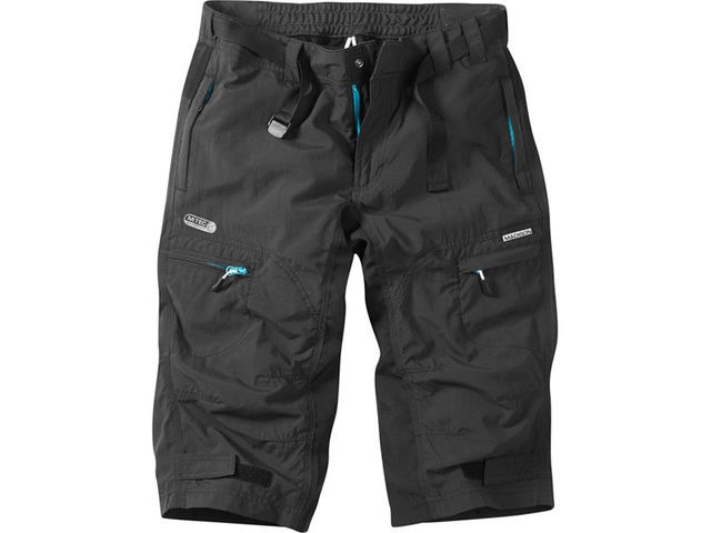 MADISON Trail women's 3/4 shorts, black click to zoom image