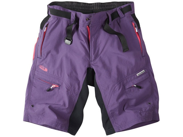 MADISON Trail women's shorts, loganberry click to zoom image