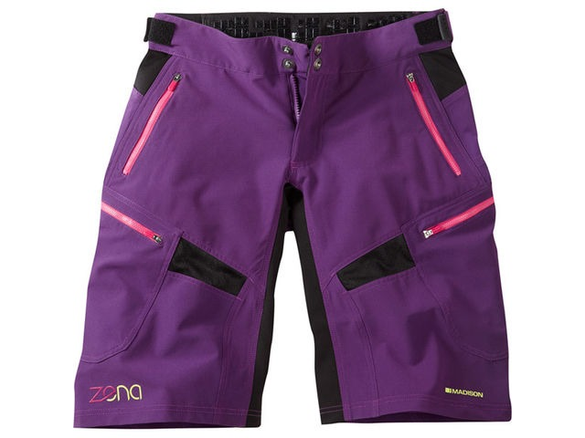 MADISON Zena women's shorts, imperial purple click to zoom image