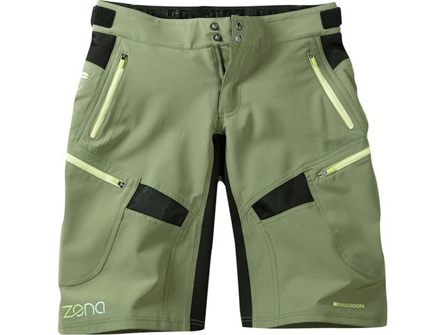 MADISON Zena women's shorts, olive green click to zoom image