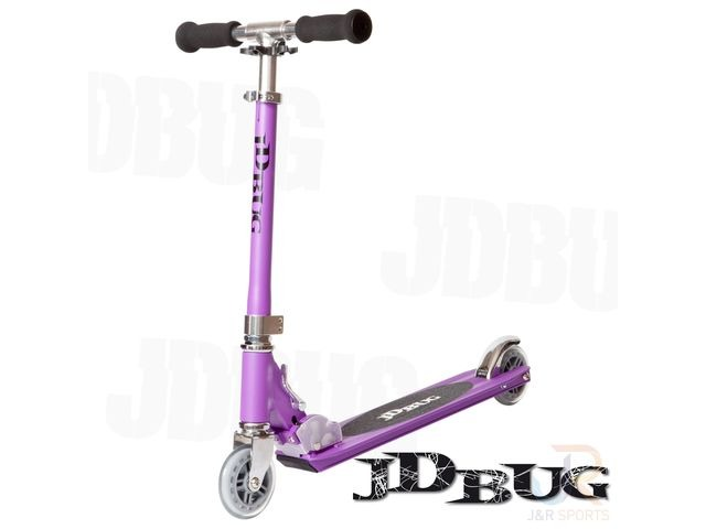 JDBUG ORIGINAL STREET SCOOTER - PURPLE MATT click to zoom image