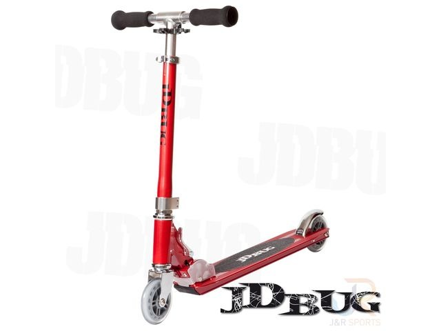 JDBUG ORIGINAL STREET SCOOTER - RED GLOW PEARL click to zoom image