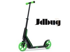 JDBUG PRO COMMUTE 185 SCOOTER - BLACK / GREEN