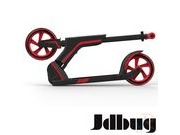 JDBUG PRO COMMUTE 185 SCOOTER - BLACK / RED click to zoom image