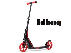 JDBUG PRO COMMUTE 185 SCOOTER - BLACK / RED
